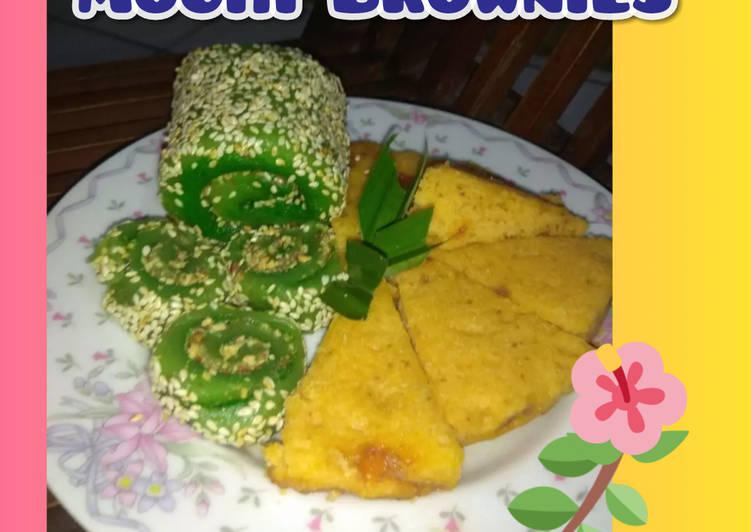 Resep: Mochi gulung sahabat brownies keju
