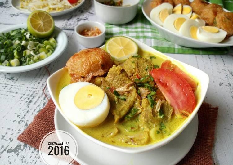 Soto Medan Daging Sapi