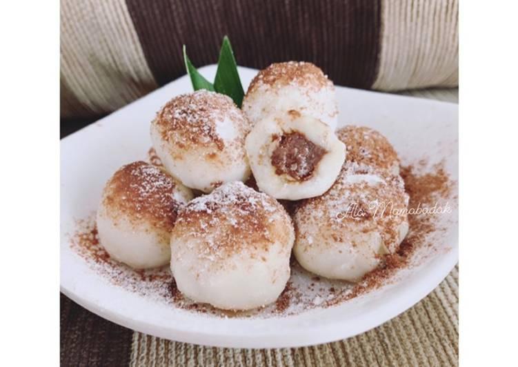 Mochi Coklat Karamel