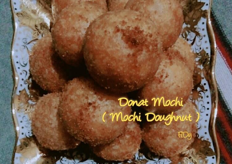 Donat Mochi (Mochi Doughnut)