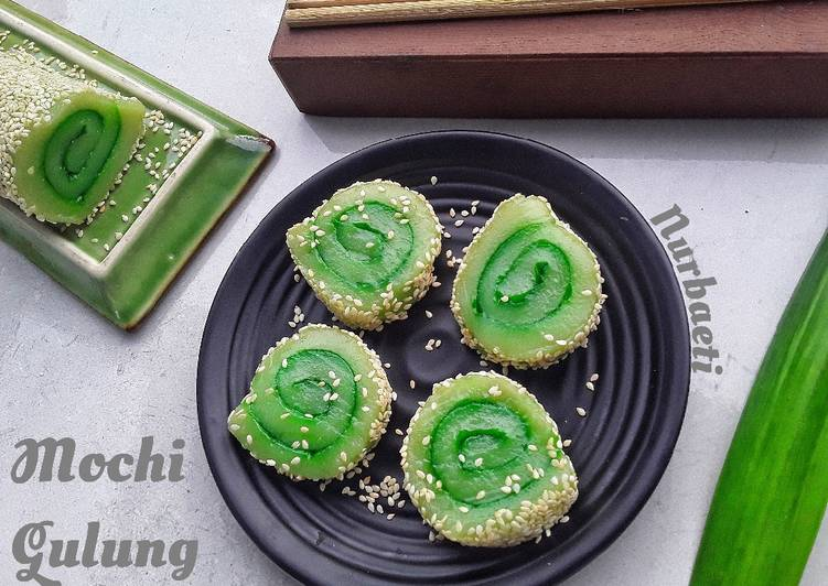 Resep membuat Mochi gulung lezat
