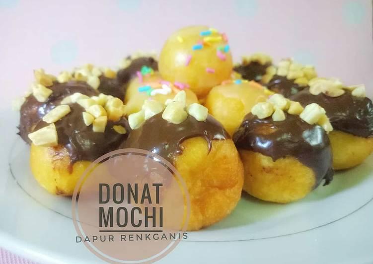 Resep: Donat mochi
