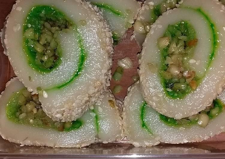 Resep: Mochi gulung yang menggugah selera