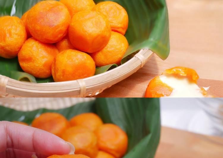 Ubi Mochi Keju / Sweet Potato Cheese Ball