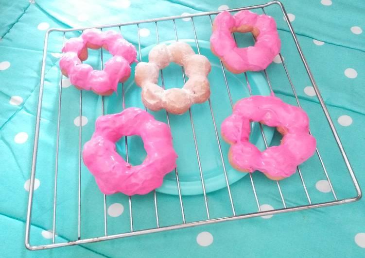 Resep: Pon-de-ring (Donat Mochi)