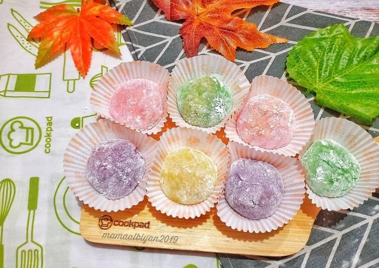 255. Sweet Rainbow Mochi