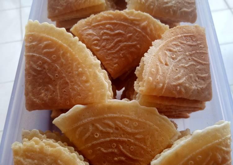 Resep: Kue Kapit / kue Semprong ala resto
