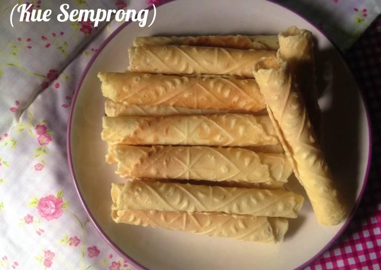 Cara Mudah memasak Kue Semprong ala resto