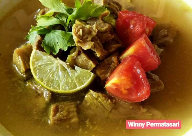 Cara memasak 18. Soto Tangkar (Tanpa Santan) #BikinRamadanBerkesan ala resto