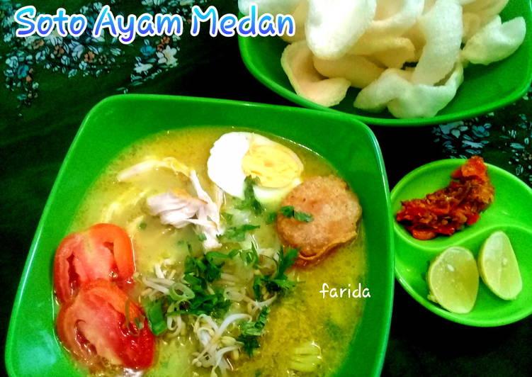 Resep memasak Soto Ayam Medan yang bikin ketagihan