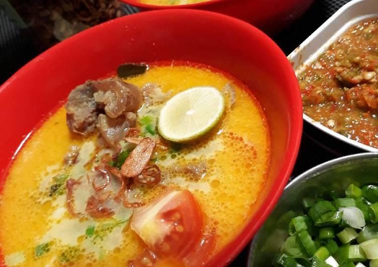 Cara membuat Soto Tangkar Jakarta ala resto