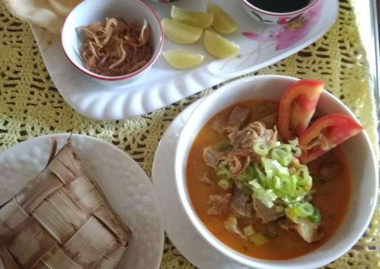 Resep memasak Soto tangkar enak
