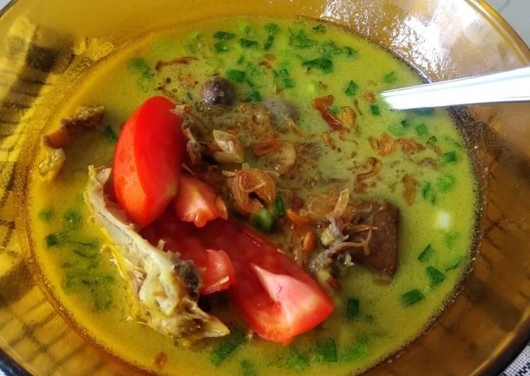 Resep memasak Soto Ayam khas Medan lezat