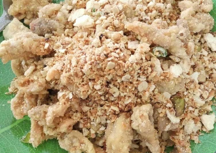 Ayam goreng oatmeal / tanggo
