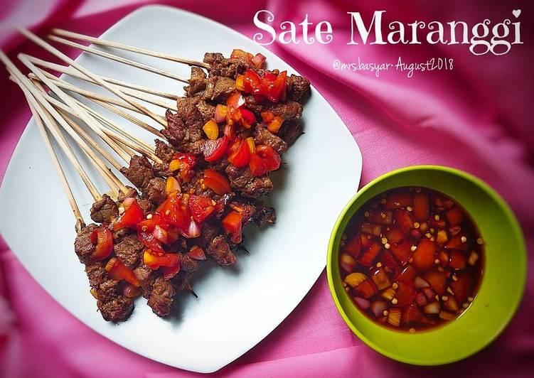 Resep: Sate Maranggi #FestivalResepAsia #Indonesia yang menggugah selera