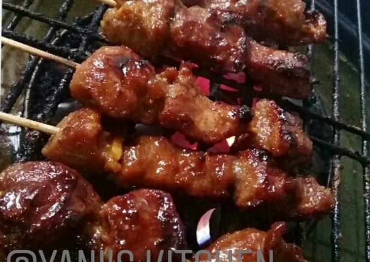 Resep: Sate Maranggi #idul adha #sate daging kurban lezat
