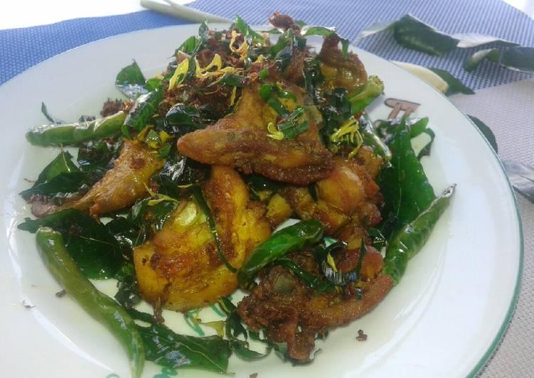 Resep memasak Ayam tangkap/ Ayam sampah khas aceh sedap