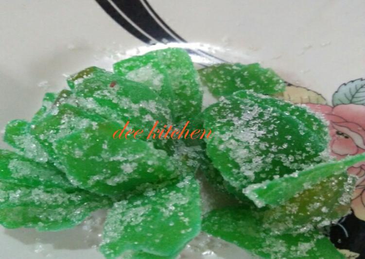 Resep: Manisan pala khas aceh lezat