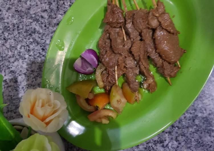 Resep: Sate maranggi ala purwakarta simple lezat