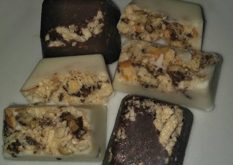 Resep membuat Coklat crunchy yang menggugah selera