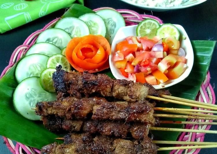 Resep: Sate Maranggi khas Purwakarta ala resto