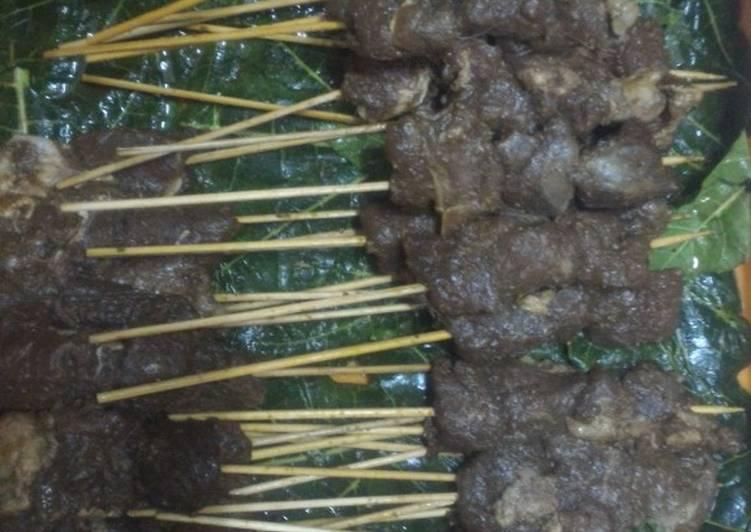 Cara Mudah mengolah Sate maranggi daging domba