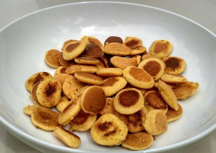 Resep mengolah Pancake Cereal Sereal 3 Bahan Viral Tik Tok ala resto