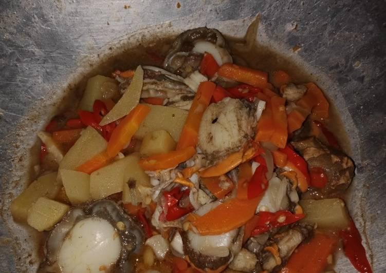 Resep: Tumis Simping pedas lezat