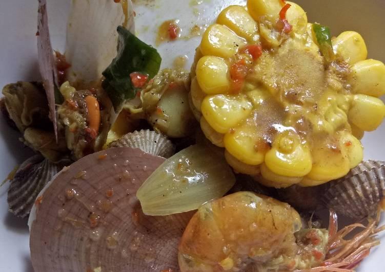 Resep: Mix seafood sedap