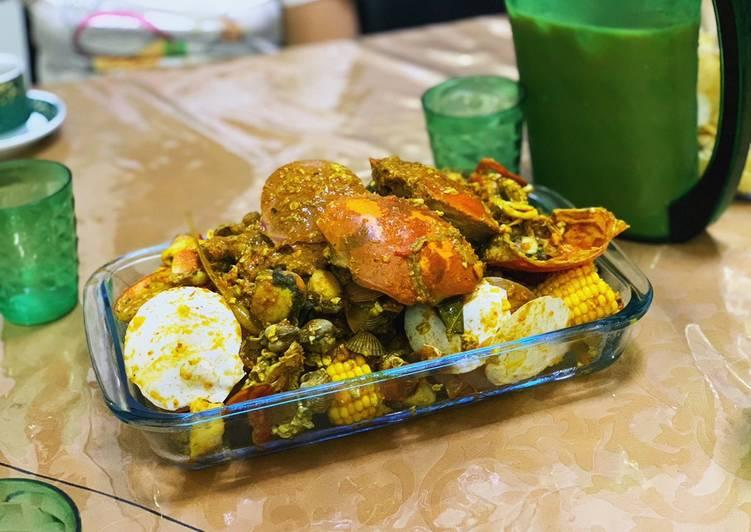 Mix Seafood Saus Singapur
