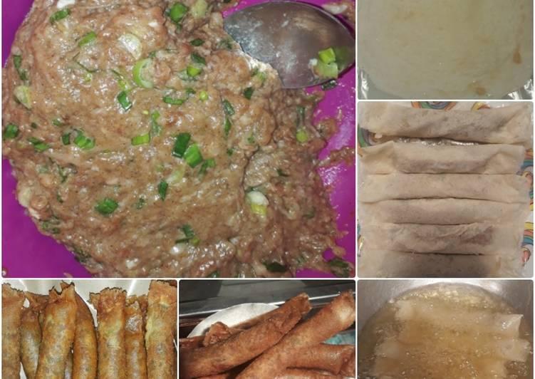 Cara memasak Ngohiang Ayam Semarang ala resto