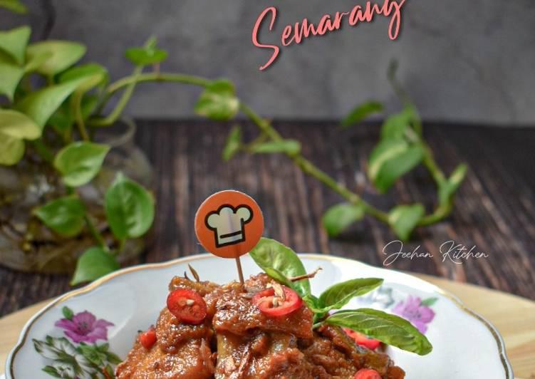 Babat Gongso Semarang