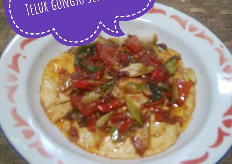 Cara Mudah membuat Telur gongso Semarang yang menggugah selera