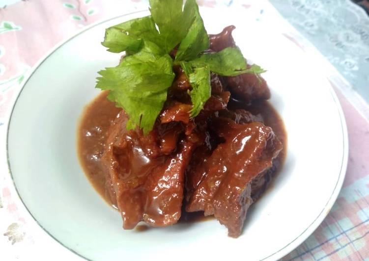 Resep: Daging sapi kelem khas semarang sedap