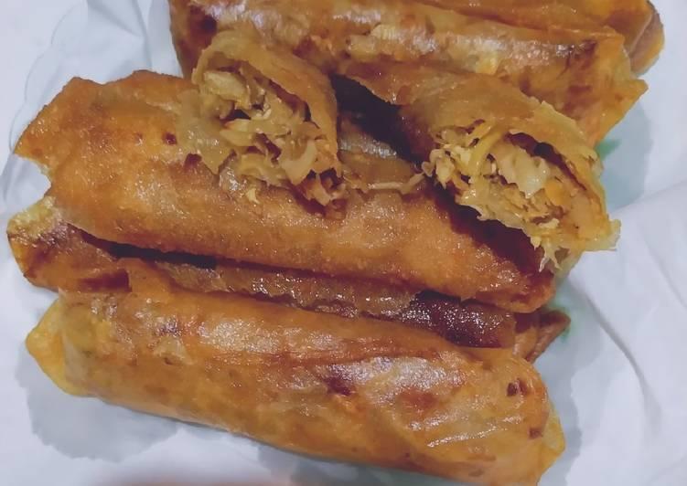 Resep: Loenpia Semarang (isi rebung) lezat