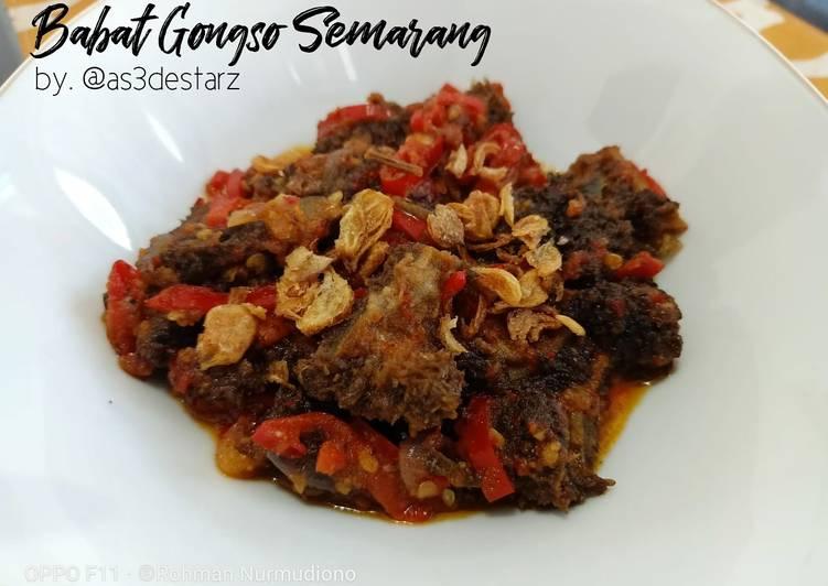 Resep: Babat Gongso Semarang yang bikin ketagihan