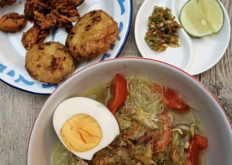 Cara memasak Soto Bangkong Semarang yang bikin ketagihan
