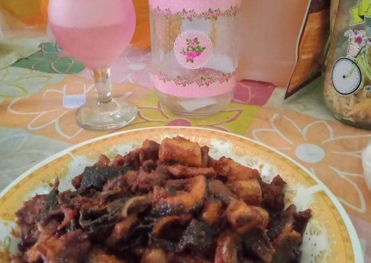 """Cara Mudah memasak Babat iso gongso """"khas semarang"""" lezat"""
