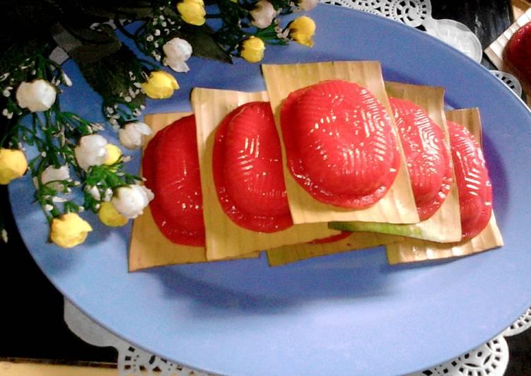 Resep: Kue ku / kue tok 1/2 kg lezat