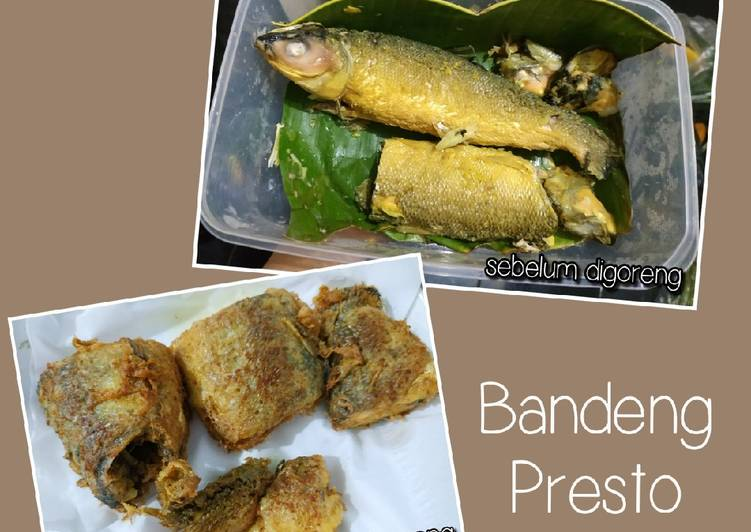 Cara memasak Bandeng Presto yang menggugah selera