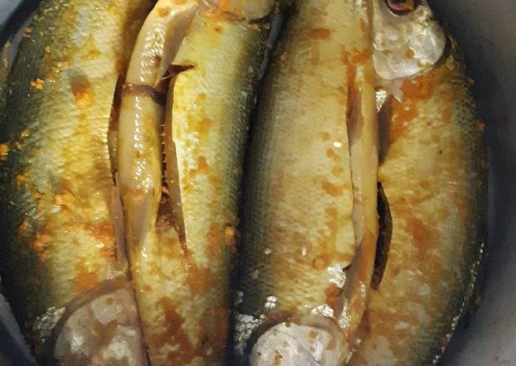Resep mengolah Ikan Bandeng Presto ala resto