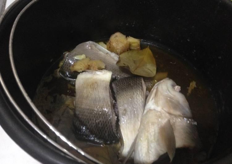 """Cara Mudah memasak Ikan bandeng presto """"bumbu dapur"""" lezat"""