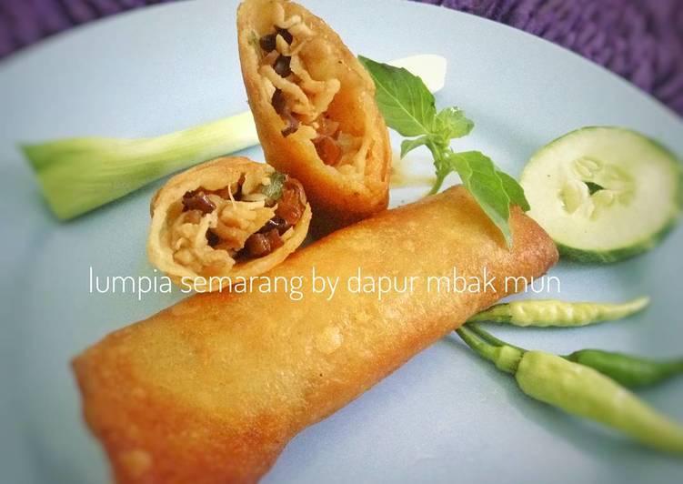 Lumpia Semarang isi Rebung & Ayam