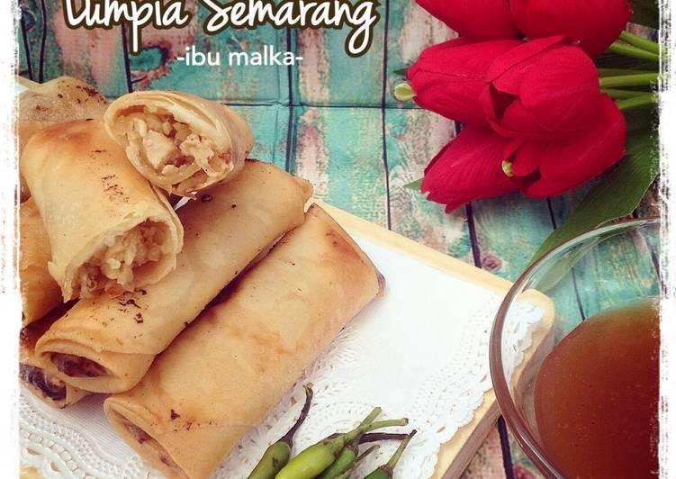 Cara memasak Lumpia Semarang ala resto