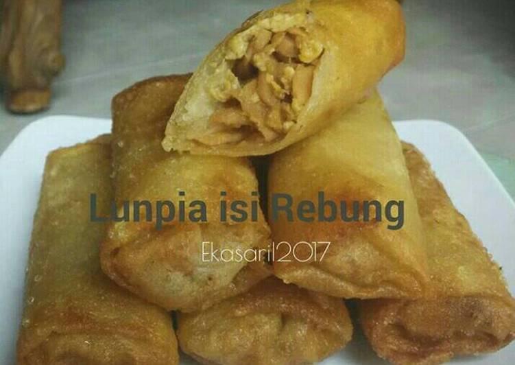 Resep: Lunpia Rebung khas Semarang istimewa