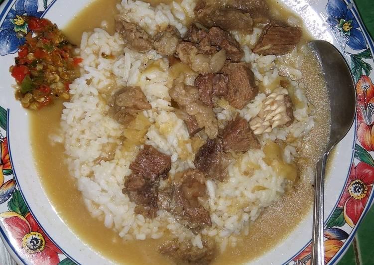 Resep: Nasi Gandul (khas Pati) sedap