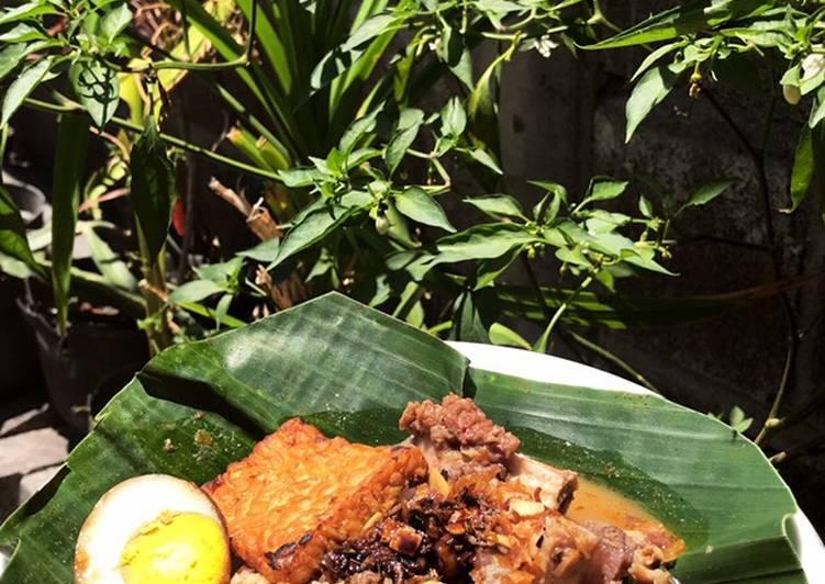 Resep: Nasi Gandul khas Pati Jawa Tengah enak