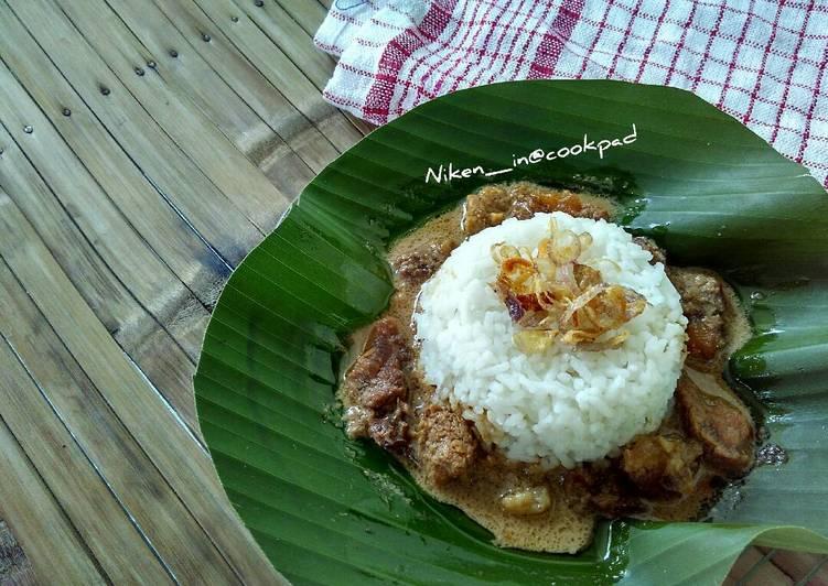 Resep: Nasi Gandul yang bikin ketagihan