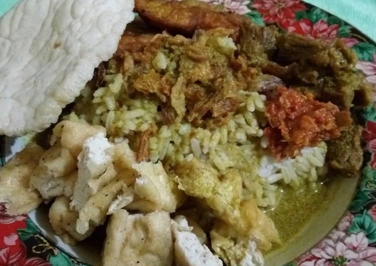 Resep: Nasi Gandul Pati yang menggugah selera