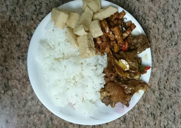 Resep: Nasi Gandul(nasi khas kab.Pati) sedap